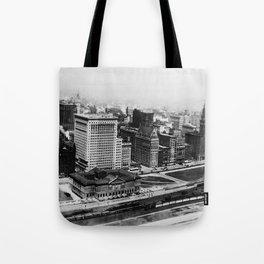 Michigan Avenue in Chicago (1911)  Tote Bag