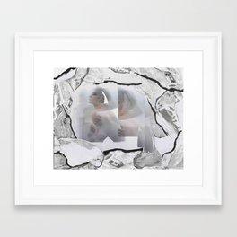 Cavernous Framed Art Print