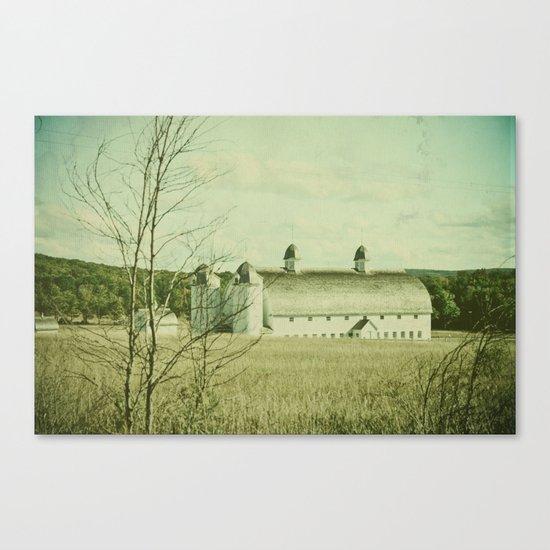 Vintage Rural Canvas Print