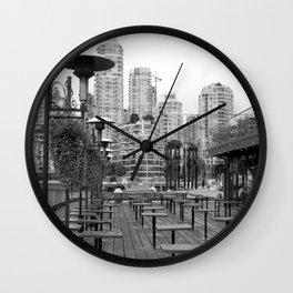 Granville Island Wall Clock