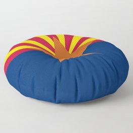 Arizona: Arizona State Flag Floor Pillow