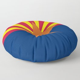 Arizona: Arizona State Flag Floor Pillow