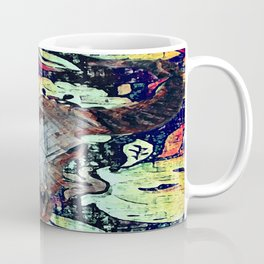 Cow Skull Floral Coffee Mug