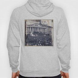 Inauguration of Pesident Abraham Lincoln (March 4, 1861) Hoody