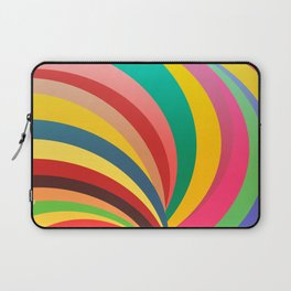 Colorful stripes, rainbow print Laptop Sleeve