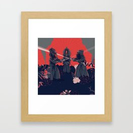kendo Framed Art Print