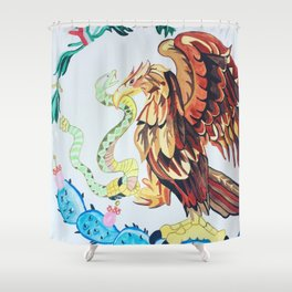 The Wings of Mexico Shower Curtain