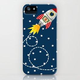 Dash retro rocket iPhone Case