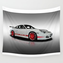 Porsche GT3 Rs Wall Tapestry
