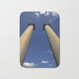 Columns Under Sky Bath Mat