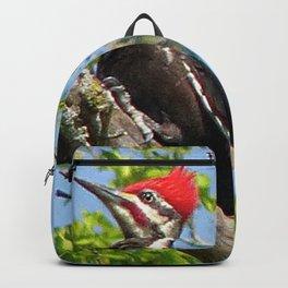 Male Pileated Woodpecker Backpack