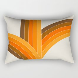 Bounce - Golden Rectangular Pillow