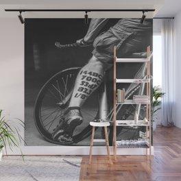 Fixed wheel Wall Mural