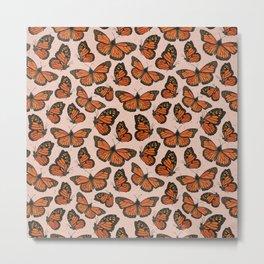 Butterfly Watercolor Metal Print