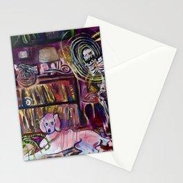 """Magic Poodle Land"" by Lindsay Wiggins Stationery Cards"