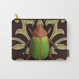 LIME BEETLE Carry-All Pouch