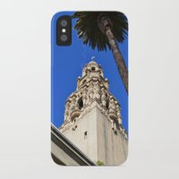 san diego iPhone & iPod Cases featuring San Diego by Chris Martin