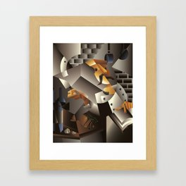 Le Chef Framed Art Print