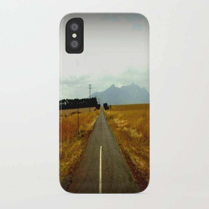 Road to Dunkeld iPhone Case