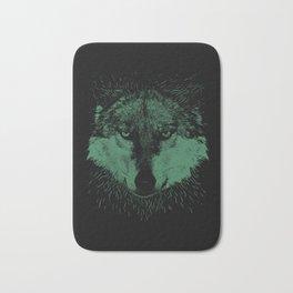 Wolf Head Animal Bath Mat