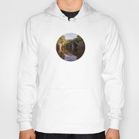 geology Hoodies featuring Mystical stone arch by UtArt