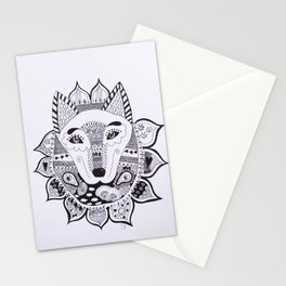 Wolf/Fox Stationery Cards