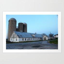 Silent Barn Art Print