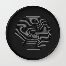 Minimal Circle Warp Wall Clock