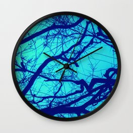 Entwined Branches Wall Clock