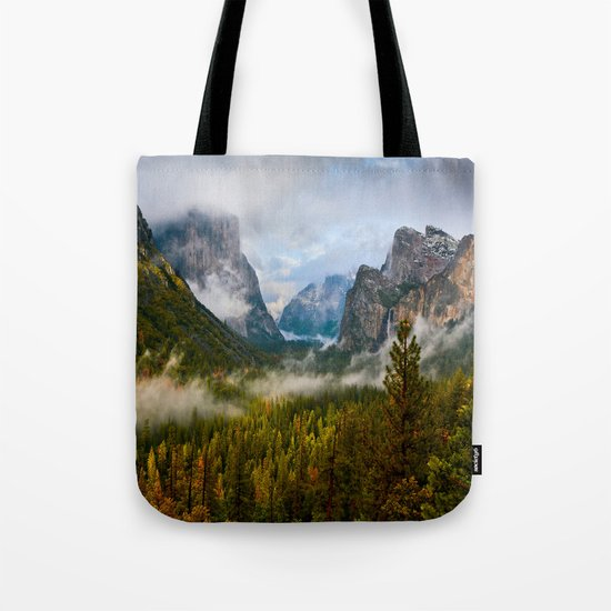 Yosemite National Park / Tunnel View  4/26/15 Tote Bag