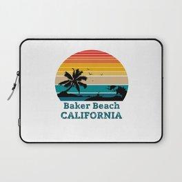 Baker Beach CALIFORNIA Laptop Sleeve