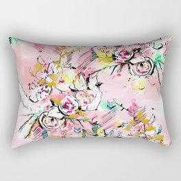 FLORAL ARROW Rectangular Pillow