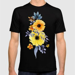FLOWERS WATERCOLOR 10 T-shirt