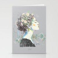 vienna Stationery Cards featuring Vienna (1) by Carlos Quiterio