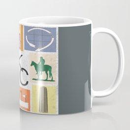 Kansas City Landmark Print Coffee Mug