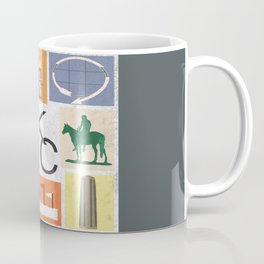 Kansas City Landmark Print Coffee Mug