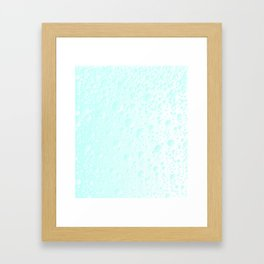 Carbonated Water Framed Art Print