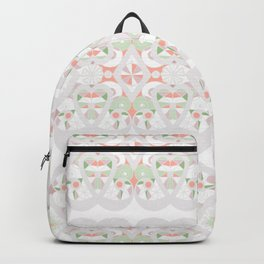 Seamless lacy lace pattern background Backpack