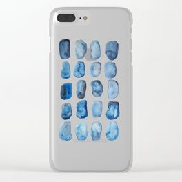 Tide Pool Clear iPhone Case