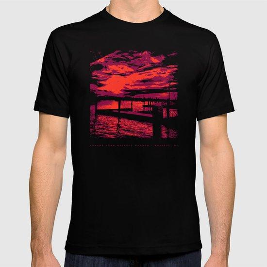 Sunset Over Bristol Harbor T-shirt