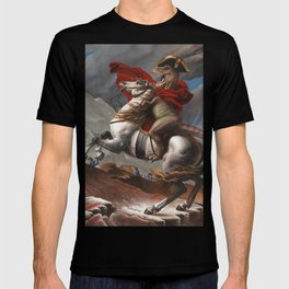 T. Rex Crossing the Alps T-shirt