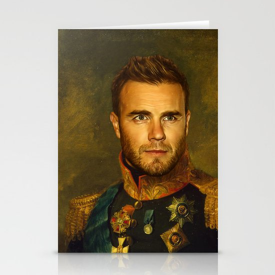 Gary Barlow - replaceface Stationery Cards