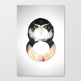 Numbirds Canvas Print