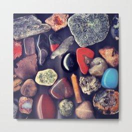 Rock Collection Metal Print