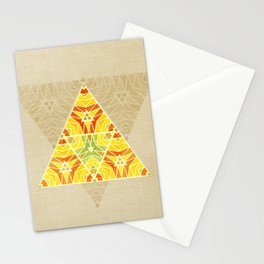 Summer Triangle Stationery Cards
