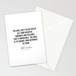 36  | Mel Robbins Quotes | 190802 Stationery Cards