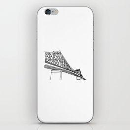 Montreal - Pont Jacques-C - Black iPhone Skin