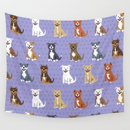 American PIT BULL TERRIERS Wall Tapestry