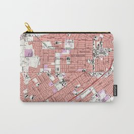 Vintage Map of Riverside California (1967) Carry-All Pouch