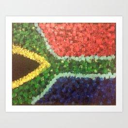Heart OF Africa Art Print